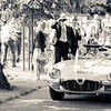 E-type Jaguar Wedding car;