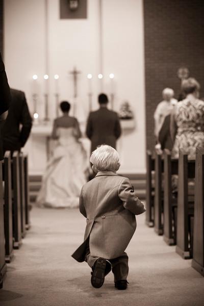 Black & white documentary wedding photography
