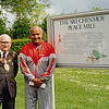 Sri Chinmoy and Mayor of Oxford
