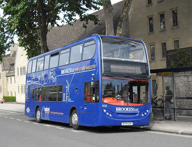 202 - BF09OXF - Oxford (New Road)