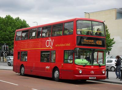 101 - T101DBW - Oxford (Park End St)
