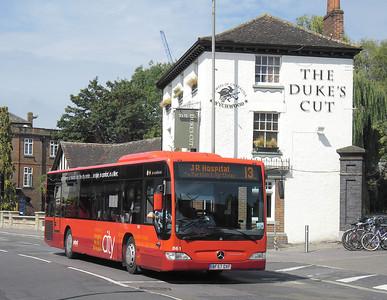 861 - BF57OXF - Oxford (Park End St)