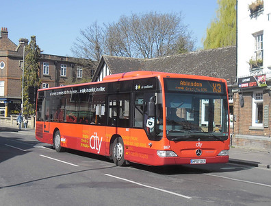 867 - HF57OXF - Oxford (Park End St)