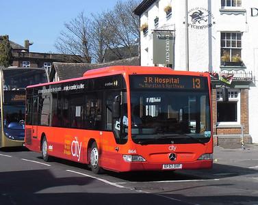864 - EF57OXF - Oxford (Park End St)