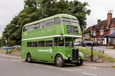 RT604 outside the Hare & Hounds in Godstone