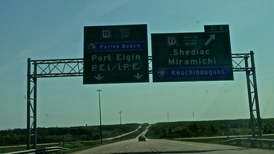 Prince Edward Island….straight ahead.
