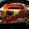 Who can pass up a box of Timbits?