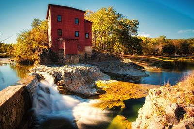 Falls at Dillard Mill