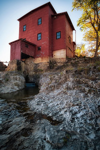 Sunset at Dillard Mill