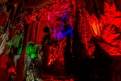 Yangshuo - Grotte de Yin Zi