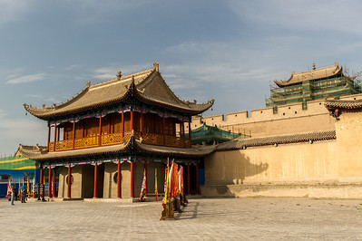 Jiayuguan - Visite de la forteresse de la Passe Jiayuguan
