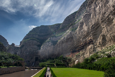 Xian de Hunyuan,Datong,Shanxi,Chine
