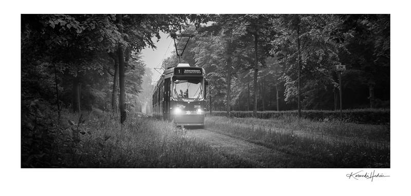 Tram 1 to Scheveningen