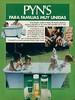 PARERA PYN'S Eau de Cologne 1977 Spain 'Para familias muy unidas - Gel de baño, colonia, desodorante, 'emulsión corporal y jabón'