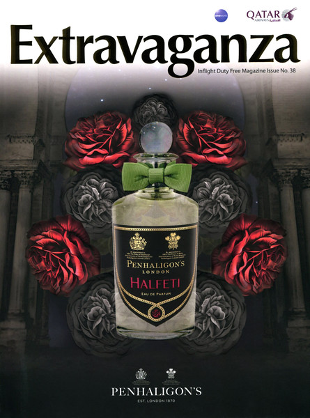 PENHALION'S Halfeti 2015 Qatar (Extravaganza cover with bas-relief, matte-gloss effects & glittery bottle)