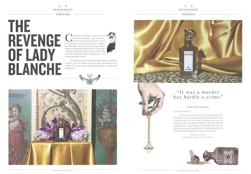 PENHALIGON'S Portraits (The Revenge of Lady Blanche) 2016 UK spread (large format)