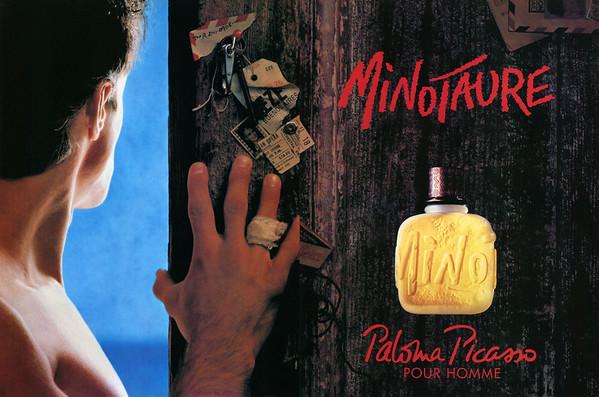 PICASSO Minotaure pour Homme 1993 Spain spread