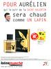 PLAYBOY VIP 2016 France (Intermarché stores) 'Pour Aurélien qui ce soir de la Saint-Valentin sera chaud comme un lapin'
