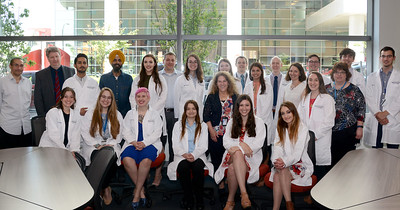 PhD White Coat Ceremony