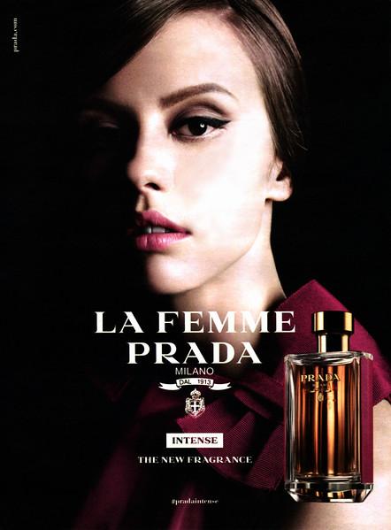 La Femme de PRADA Intense 2017 Spain (format 16 x 22 cm) 'The new fragrance'