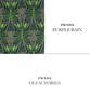 PRADA Olfactories (Purple Rain) 2015 (recto-verso tester card 10 x 5 cm)