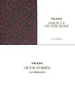 PRADA Olfactories Les Mirages (Miracle of the Rose) 2017 (recto-verso tester card 10 x 5 cm with golden letters) 'Oud Rose'