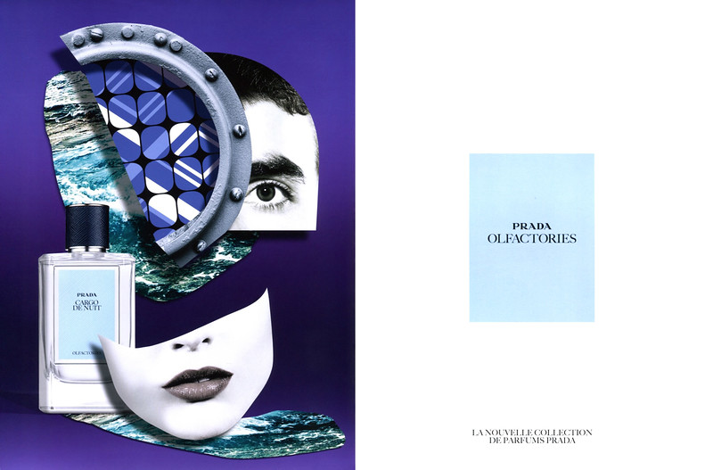 PRADA Olfactories Cargo de Nuit 2016 France spread 'La nouvelle collection de parfums Prada'