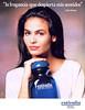 PUIG Estivalia 1991 Spain 'La fragancia que despierta mis sentidos - Inés Sastre'<br /> MODEL: Inés Sastre