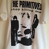 The Primitives. This image was used on promotional posters at the time of the single release in 1987, but this particular shirt was produced many years later - this one entered the collection courtesy of the band's website in 2019.