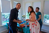 """July 9<br /> <br /> Happy baby shower, Zack and Shawna! Even with awkward David there, you guys look freakin' adorable. Emily and I had a great time hanging out with everybody and having all the drinks! And food! And fun!<br /> <br /> Getting to Dallas was a little bit of a challenge, not only because of Thursday's shooting, but also because there was yet another security alert going on during our drive down. I guess some suspicious dude got into the Dallas PD HQ parking garage and ran off when a detective asked him what he was doing there. We drove past barricaded road after barricaded road. Luckily nothing terrible happened this time around. I'm not really sure what happened to Suspicious Man.<br /> <br /> This morning we made another separate trip to Dallas to see the dentist. That visit went fine (muh). We popped across the street to Warby Parker to get our glasses adjusted, and then we tried a new lunch place called Knuckle Sandwich. Their menu literally says """"Artisan Sandwiches"""" on it. I can't wait to show Ahna. I ordered a chicken masala sandwich (it was a wrap) that came on naan bread. KINDA felt like my idea for that awesome Indian taco food truck I haven't told you about, Taco Naan. Don't worry, it'll totally be real someday."""