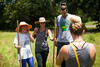 June 15<br /> <br /> We were able to get the drone into the office this morning, but there was too much setup needed for us to get it in the air at Cardo Farms. Ahna and I shot photos and video of some students working the farm out in the midday sun. Did I mention it's been insanely hot lately? By the time we started CG this evening, the heat index was 105º and insanely humid. To make matters worse, I'm an idiot and had ice cream and pie for lunch at 3pm. It wasn't just any ice cream, either. It was Amanda's special peanut butter cookie dough ice cream. Ugh, it was so good.<br /> <br /> I don't know how I made it through Gladiator without ralphing all over the place. I actually did pretty well! Despite my terrible food decisions and the oppressive weather, I still shaved 35 seconds off of my fit test from Week 1. I guess that means I'm in shape now, right?