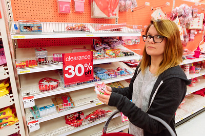 February 15  We bought Valentine's Candy on sale with gift cards. Cavities to come!