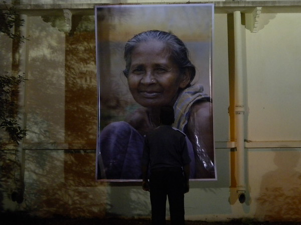 'Portraits for People' exhibition at Nandan Museum, Visva-Bharati, Santiniketan, West Bengal, India. September 2010