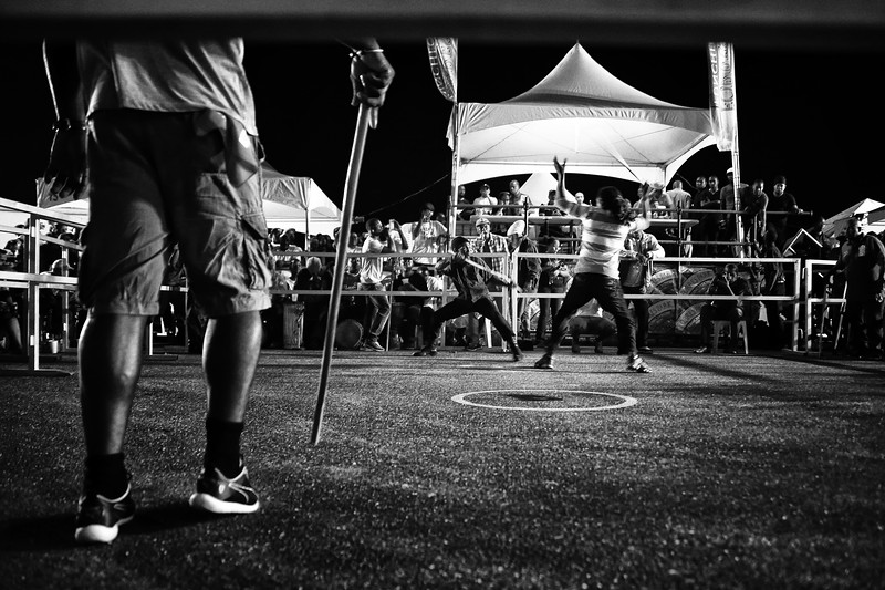 The main event in the Gayelle is the Kalinda or stick fight which dates back to the post-emancipation period