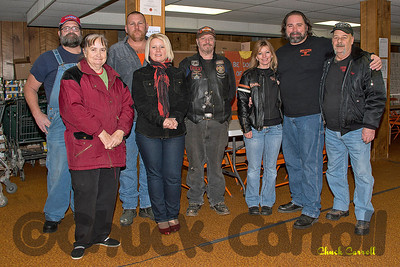 ABATE-Centre Line Riders - Snow Shoe Food Bank  2012