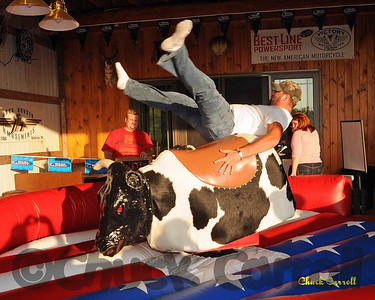 State College Bike Night -- Mechanical Bull Riding - PA Roadhouse