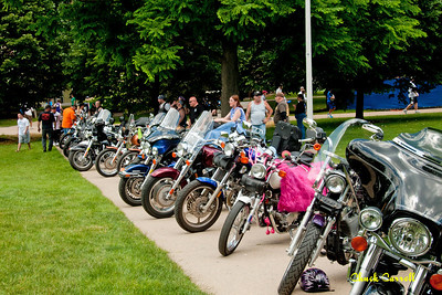 PSU Special Olympics Motorcycle Photo Event - State College PA