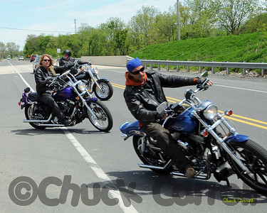 The Women Motorcycle Riders of Central PA. 1st Official Ride for The Womens Resource Center of State College PA