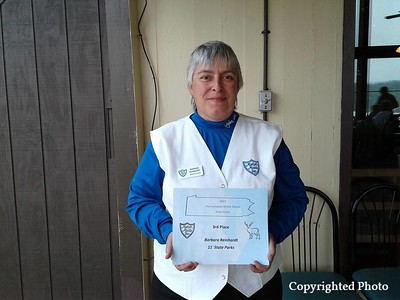 3rd Place State Parks, 11 Parks. — with Barbara Reinhardt.