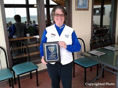 Pa Motor Maid 1st place Mileage Award  Teresa Forcier 18,616 miles!!  Way to go Teresa! — with Teresa Forcier .