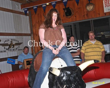 Mechanical Bull Riding at the Pa Roadhouse