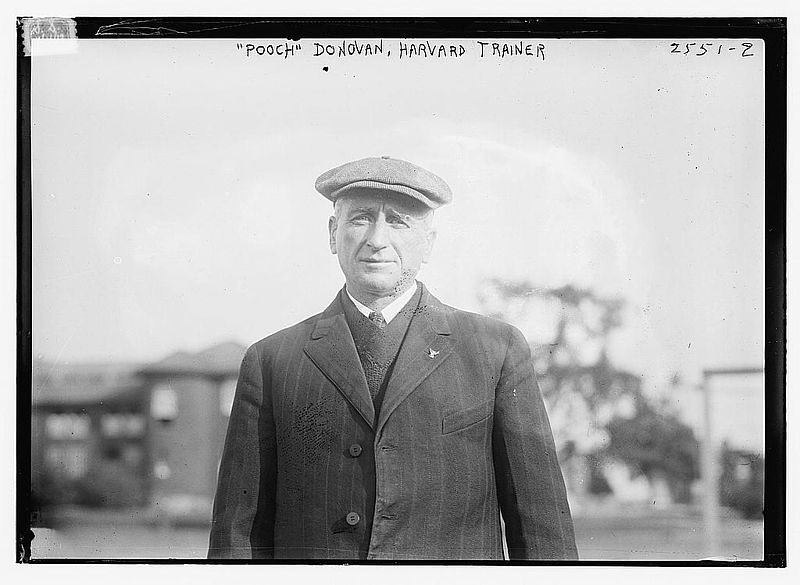 A later picture of William F. Donovan, who, after his brief 1893 stint at Exeter, went on to become a respected and beloved athletic trainer to generations of Harvard athletes. Donovan passed away in 1928 at the age of 62.
