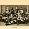 The official photo of Andover's 1893-1894 football team. Each man was outweighed by his Exeter counterpart that year. Among this team's distinctions: it was the only team to score against Harvard that season.