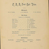 An 1893-1894 football roster features the names of the Andover Eleven, the team which lost to Exeter in the infamous 1893 contest. Revelations that Exeter's quarterback was a professional athlete caused outrage. A deeper look at the roster raises questions about the eligibility of some Andover players, too.