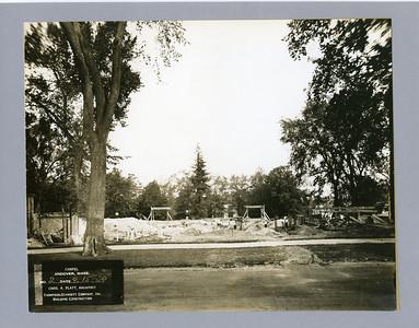 Construction of Cochran Chapel
