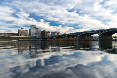 Wilkes Barre from the Susquehanna River