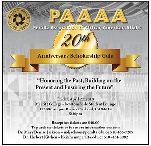 2018 PAAAA 20th Scholarship Anniversary Celebration