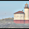 Sunny Mist—Coquille River Lighthouse