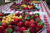 June 23 ~ Berry tasting at the Bravo Lake Botanical Gardens annual event in Woodlake, CA