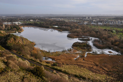 © Felipe Popovics 17-1-2010 Duddingston Loch (frozen)